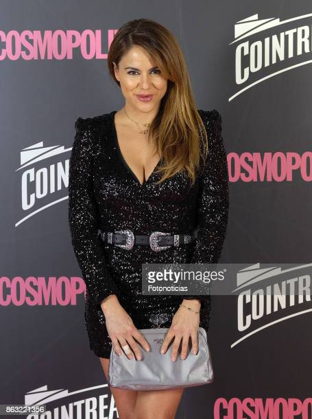 Monica Hoyos attends the 2017 Cosmpolitan Awards at the Graf club on October 19 2017 in Madrid Spain