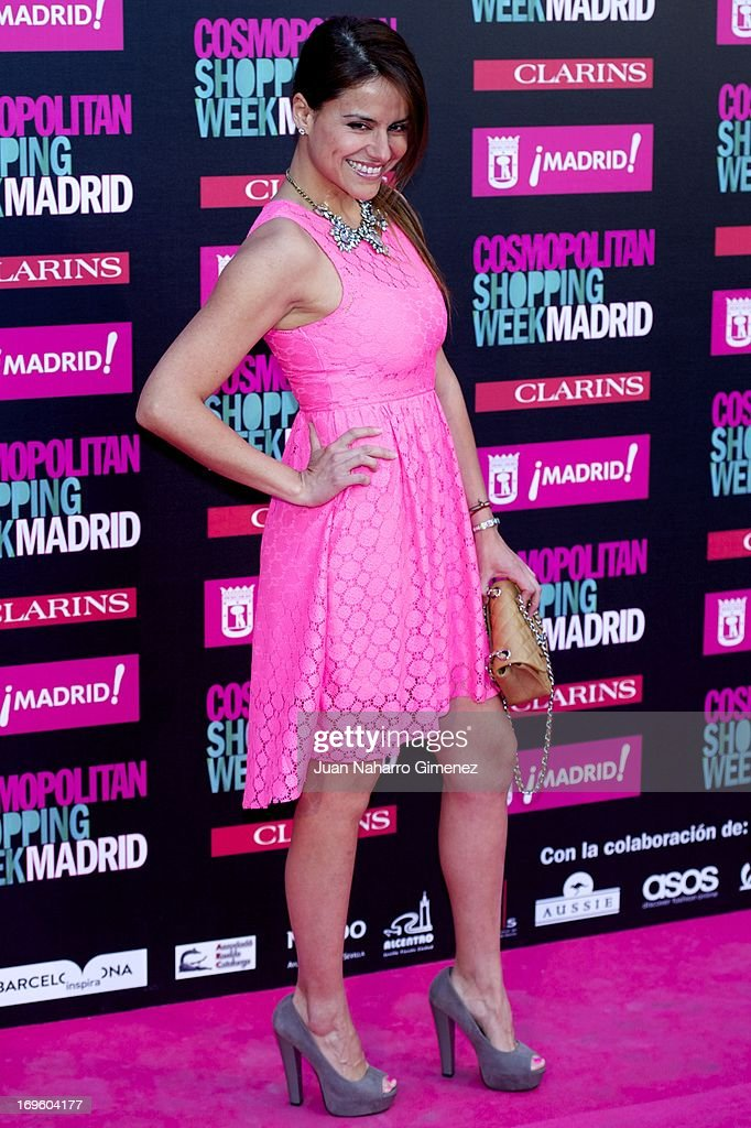Monica Hoyos attends the 'Cosmopolitan Shopping Week' party at the Plaza de Callao on May 28, 2013 in Madrid, Spain.
