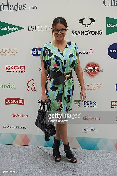 Monica Hoyos attends The Petite Fashion Week 2nd Edition at the Palacio de Cristal on October 16 2015 in Madrid Spain