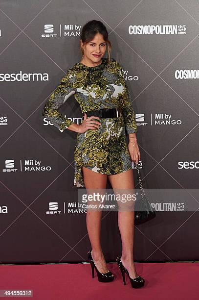 Monica Hoyos attends the VIII Cosmopolitan Fun Fearless Female Awards at the Ritz hotel on October 27 2015 in Madrid Spain