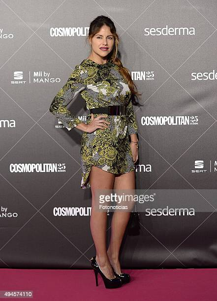 Monica Hoyos attends the VIII Cosmpolitan Awards at The Ritz Hotel on October 27 2015 in Madrid Spain