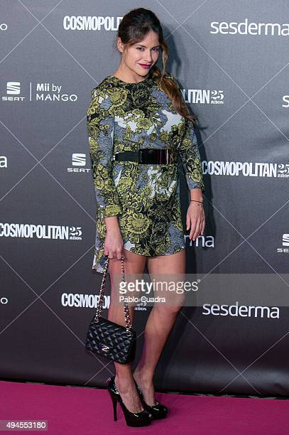 Monica Hoyos attends VIII Cosmopolitan Fun Fearless Female Awards at Ritz hotel on October 27 2015 in Madrid Spain