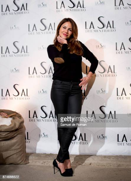 Monica Hoyos during 'La Sal Del Mentidero' Inauguration on November 15 2017 in Madrid Spain