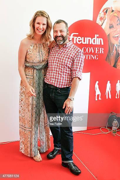 Monica Ivancan and Nikolaus Albrecht during the 'MyFair Eine Erlebniswelt fuer mich' In Essen on June 13 2015 in Essen Germany