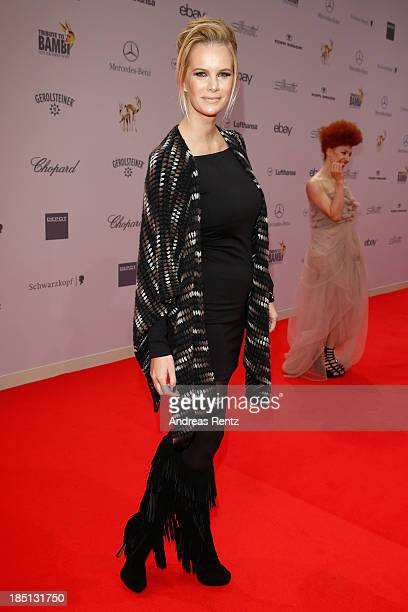 Monica Ivancan arrives at Tribute To Bambi at Station on October 17 2013 in Berlin Germany