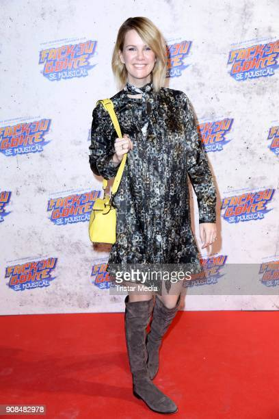 Monica Ivancan attends the 'Fack ju Goehte Se Mjusicael' Musical Premiere on January 21 2018 in Munich Germany