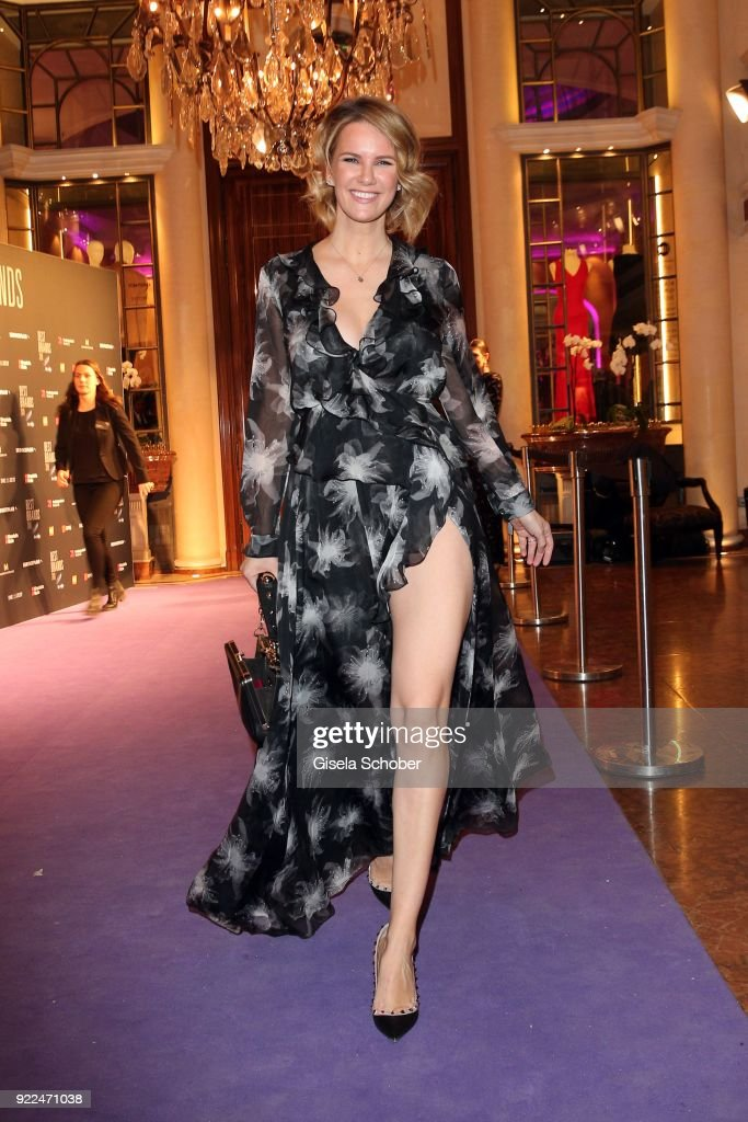 Monica Ivancan during the 15th Best Brands Award 2018 on February 21, 2018 at Hotel Bayerischer Hof in Munich, Germany.
