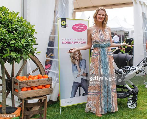 Monica Ivancan during the 'MyFair Eine Erlebniswelt fuer mich' In Essen on June 13 2015 in Essen Germany
