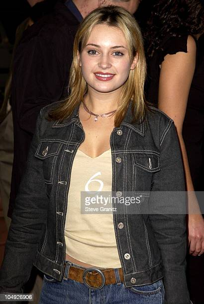 Monica Keena arriving at the premiere of Orange County