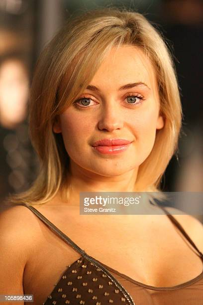 Monica Keena during 'BloodRayne' Los Angeles Premiere Arrivals at Mann's Chinese in Hollywood California United States