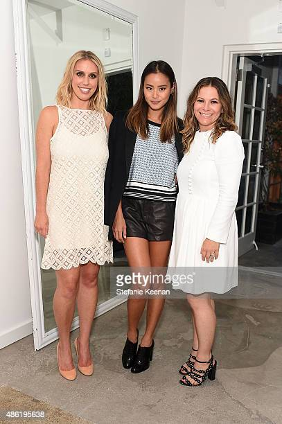 Monica Lambert Jamie Chung and Ashlee Margolis attends The A List 15th Anniversary Party on September 1 2015 in Beverly Hills California