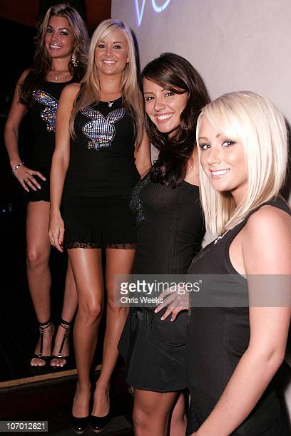 Monica Leigh 2006 Playmate of the Year Kara Monaco Pennelope Jimenez and Sara Underwood