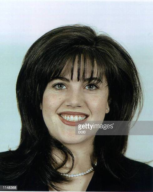 Monica Lewinsky a former White House intern and Department of Defence employee who reportly has had a year long affair with President Bill Clinton