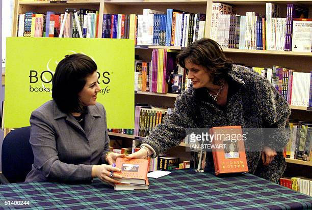 Monica Lewinsky appears at a Glasgow bookstore 15 March as her book signing tour reached Scotland About 300 people cheered as the former White House...