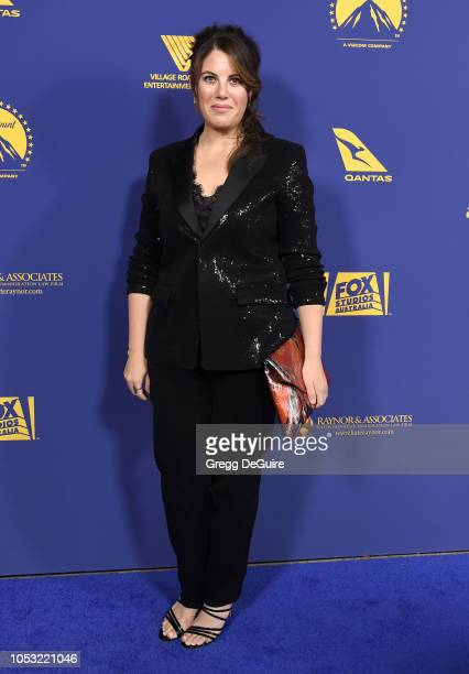 Monica Lewinsky arrives at the 7th Annual Australians In Film Award Benefit Dinner at Paramount Studios on October 24 2018 in Los Angeles California