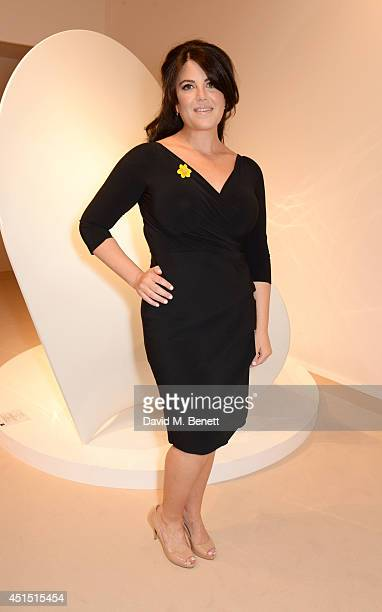 Monica Lewinsky arrives at The Masterpiece Marie Curie Party supported by JaegerLeCoultre and hosted by Heather Kerzner at The Royal Hospital Chelsea...
