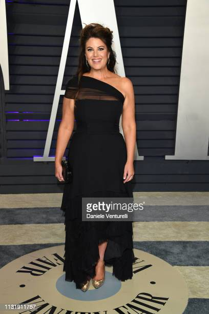 Monica Lewinsky attends 2019 Vanity Fair Oscar Party Hosted By Radhika Jones at Wallis Annenberg Center for the Performing Arts on February 24 2019...