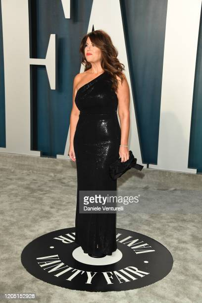 Monica Lewinsky attends 2020 Vanity Fair Oscar Party Hosted By Radhika Jones at Wallis Annenberg Center for the Performing Arts on February 09 2020...