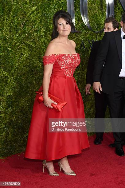 Monica Lewinsky attends the 2015 Tony Awards at Radio City Music Hall on June 7, 2015 in New York City.