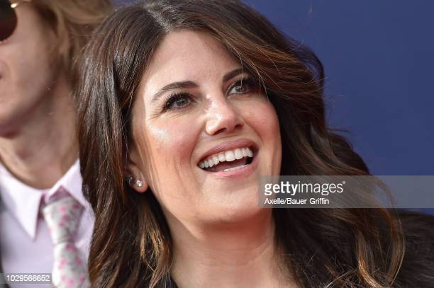 Monica Lewinsky attends the 2018 Creative Arts Emmy Awards at Microsoft Theater on September 8 2018 in Los Angeles California
