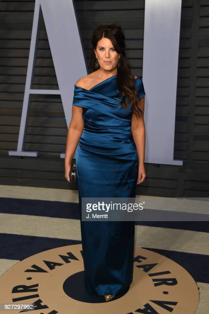 Monica Lewinsky attends the 2018 Vanity Fair Oscar Party hosted by Radhika Jones at the Wallis Annenberg Center for the Performing Arts on March 4...