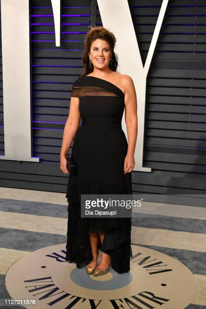 Monica Lewinsky attends the 2019 Vanity Fair Oscar Party hosted by Radhika Jones at Wallis Annenberg Center for the Performing Arts on February 24,...