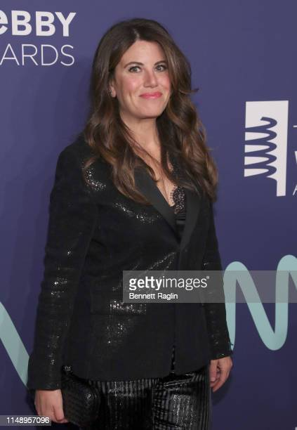 Monica Lewinsky attends the 2019 Webby Awards at Cipriani Wall Street on May 13, 2019 in New York City.