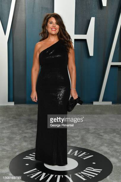 Monica Lewinsky attends the 2020 Vanity Fair Oscar party hosted by Radhika Jones at Wallis Annenberg Center for the Performing Arts on February 09...