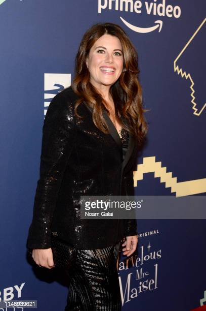 Monica Lewinsky attends The 23rd Annual Webby Awards on May 13 2019 in New York City