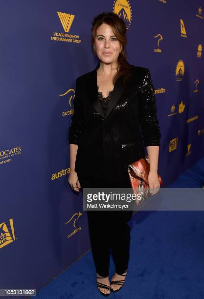 Monica Lewinsky attends the 7th Annual Australians in Film Awards Gala at Paramount Studios on October 24 2018 in Los Angeles California
