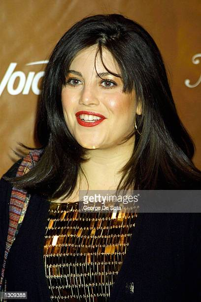 Monica Lewinsky attends the Fifth Annual New York Magazine Awards December 4, 2000 at Saturday Night Live Studio 8H at Rockefeller Center in New York...