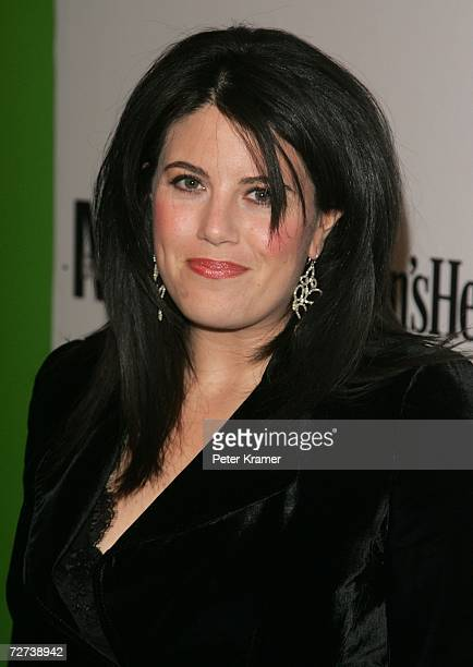 Monica Lewinsky attends the Men's Health & Best Life exhibition for photographer Nigel Parry to celebrate the release of his new book Blunt at Milk...