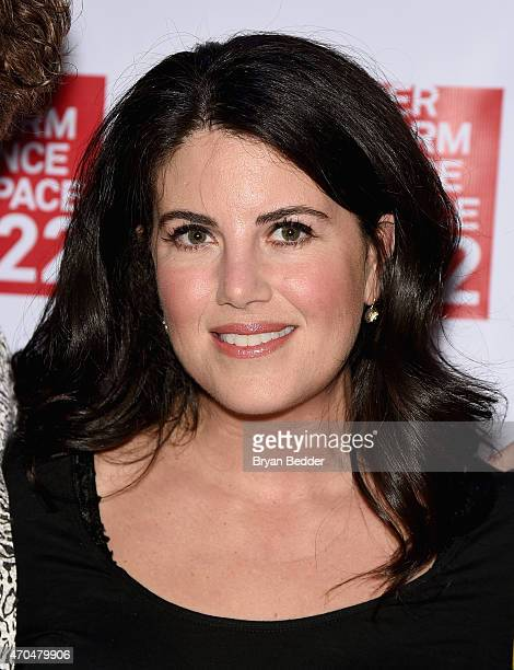 Monica Lewinsky `attends the Performance Space 122 2015 Spring Gala Honoring Claire Danes at Capitale on April 20 2015 in New York City