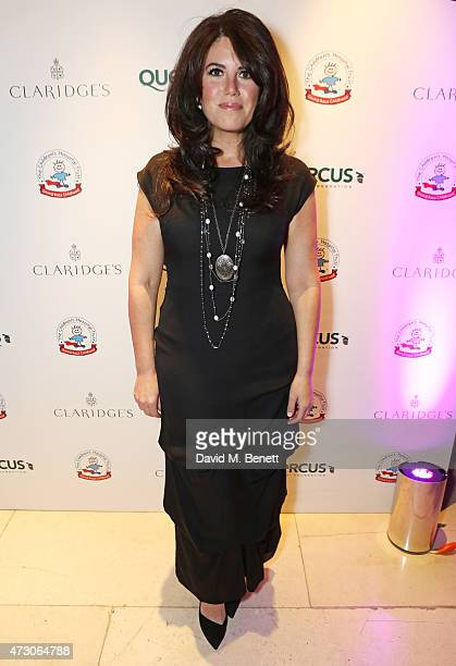 Monica Lewinsky attends the Spring Gala In Aid of the Red Cross War Memorial Children's Hospital hosted by QBF and Kerzner Calliva at Claridge's...