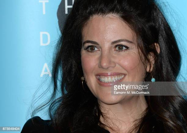 Monica Lewinsky during an antibullying campagin photocall at Alexandra Palace on November 13 2017 in London England