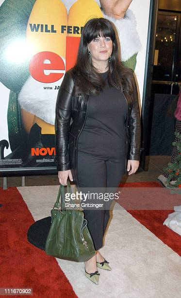 ec8f1d818200 Monica Lewinsky during  Elf  New York Premiere at Loews Astor Plaza in New  York.