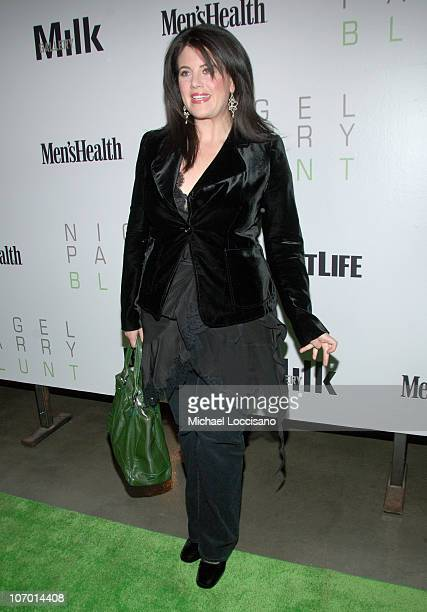 08d0704e8578 Monica Lewinsky during Opening Night Party for Nigel Parry s  Blunt  Exhibition  Hosted by Men s
