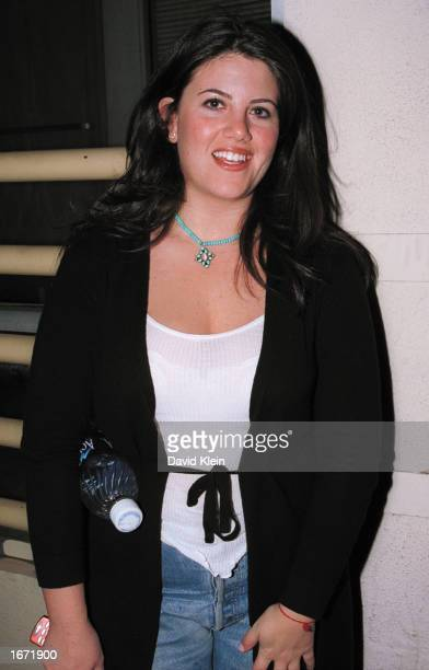 Monica Lewinsky enters the Ivar November 29 2002 in Hollywood California