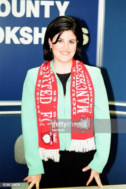 Monica Lewinsky, former Intern at The White House, pictured during Book Signing Tour, Book titled Monica's Story, at County Bookshops, The Trafford...