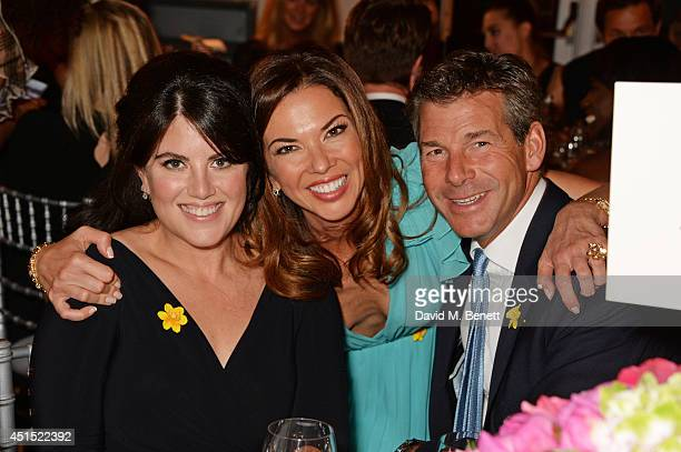 Monica Lewinsky Heather Kerzner and Hugh Morrison attend The Masterpiece Marie Curie Party supported by JaegerLeCoultre and hosted by Heather Kerzner...