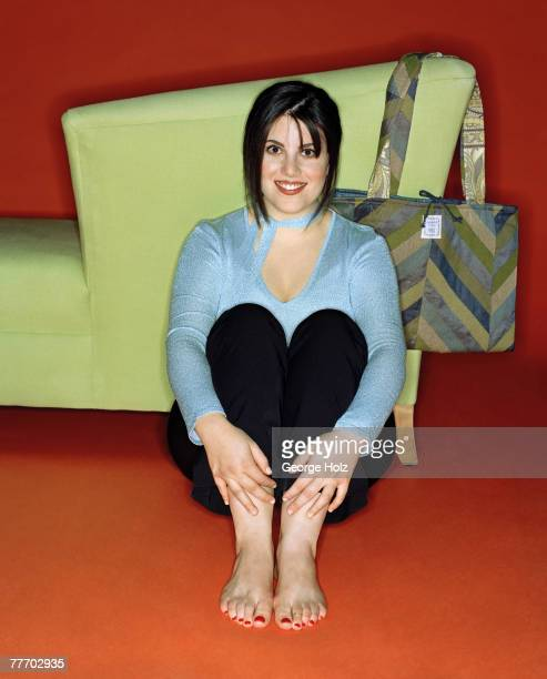 Monica Lewinsky is photographed for Yahoo Magazine on November 29 2000 in New York City PUBLISHED IMAGE