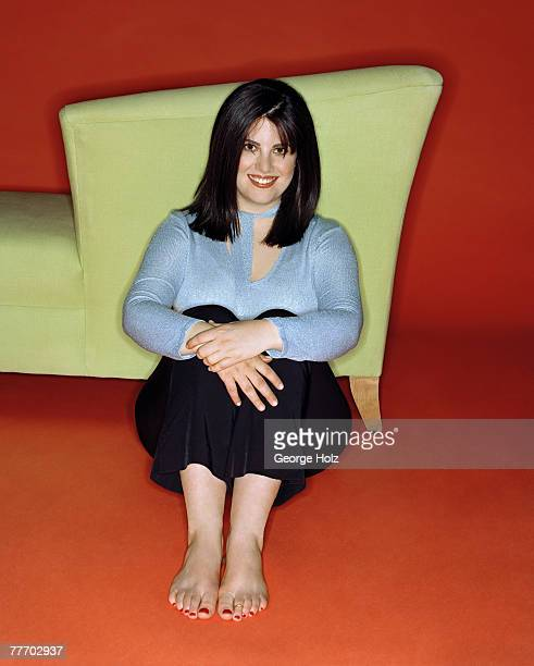 Monica Lewinsky is photographed for Yahoo Magazine on November 29 2000 in New York City