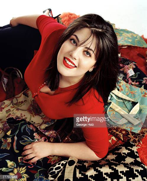 Monica Lewinsky is photographed for Yahoo! Magazine on November 29, 2000 in New York City.