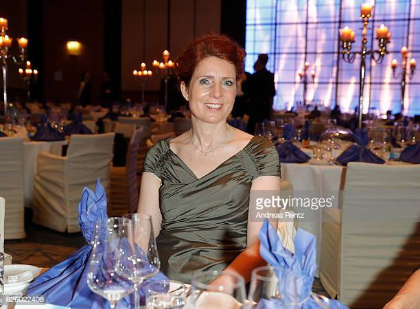 Monica Lierhaus attends the charity event dolphin aid gala 'Dolphin's Night' at InterContinental Hotel on November 26 2016 in Duesseldorf Germany