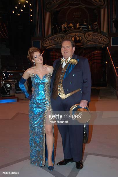 Monica Lierhaus Ottfried Fischer als ZirkusDirektor für ARDBenefiz ZirkusGala 'Stars in der Manege' München Deutschland PNr 1792/2006 'Circus Krone'...