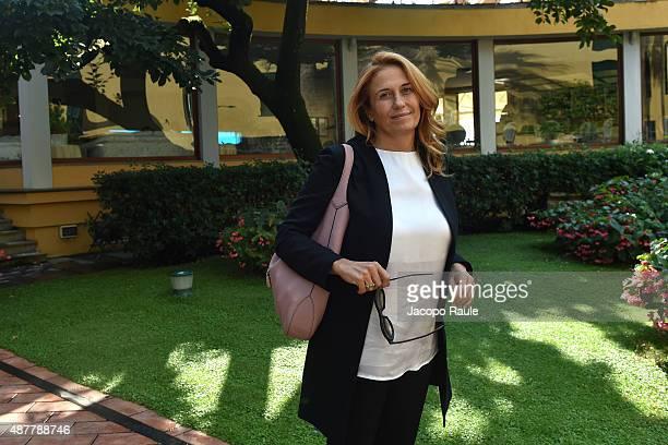 Monica Maggioni attends the Festival Della Comunicazione on September 11 2015 in Camogli Italy