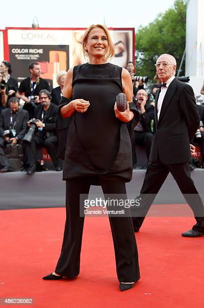 Monica Maggioni attends the opening ceremony and premiere of 'Everest' during the 72nd Venice Film Festival on September 2 2015 in Venice Italy