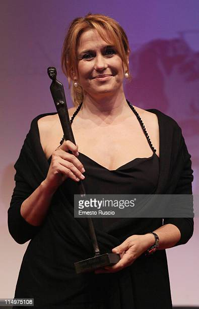 Monica Maggioni attends the Premio Afrodite at Studios on May 31 2011 in Rome Italy