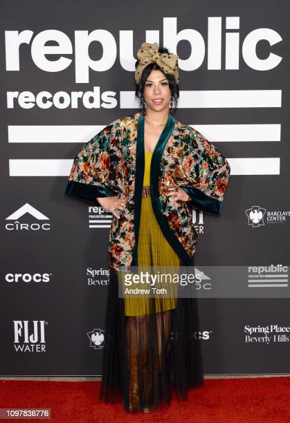 Monica Martin attends Republic Records Grammy after party at Spring Place Beverly Hills on February 10 2019 in Beverly Hills California