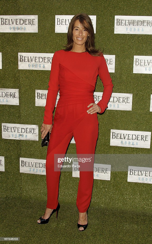 Monica Martin Luque attends 'Jardin de los Macerados' inauguration by Belvedere Vodka photocall at French Institute on April 24, 2013 in Madrid, Spain.